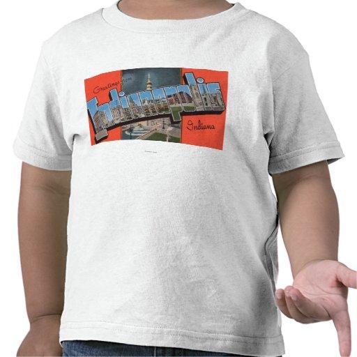 Indianapolis, Indiana (Town Plaza) Tee Shirts