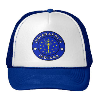 Indianapolis Indiana Trucker Hat