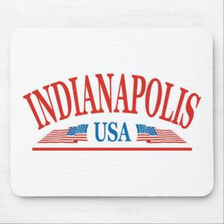 Indianapolis Indiana USA Mouse Pad