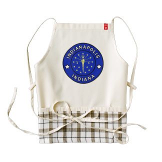 Indianapolis Indiana Zazzle HEART Apron