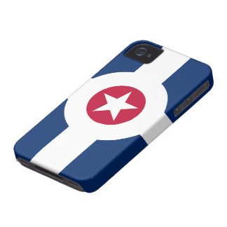 Indianapolis LARGE PRINT Flag iPhone 4 Case