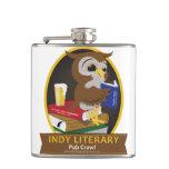 Indianapolis Literary Pub Crawl - Flask Hip Flask