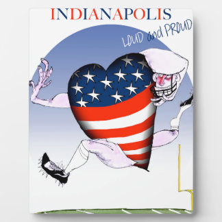 indianapolis loud and proud, tony fernandes plaque