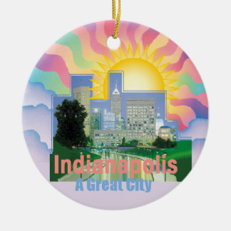 INDIANAPOLIS Ornament