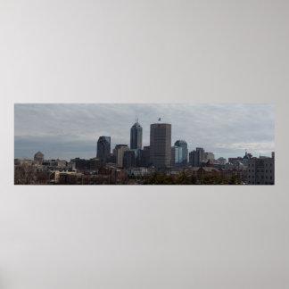 Indianapolis Panorama Print