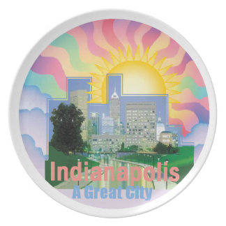 INDIANAPOLIS Plate