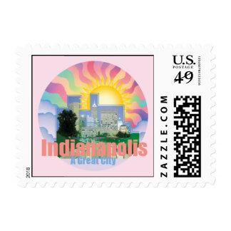 INDIANAPOLIS Postage