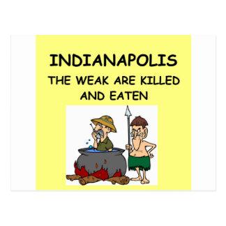 INDIANapolis Postcards