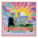 INDIANAPOLIS POSTER Print