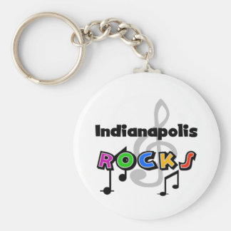 Indianapolis Rocks Keychain