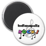 Indianapolis Rocks Magnets