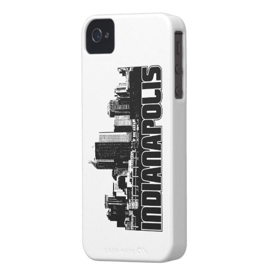Indianapolis Skyline Case-Mate iPhone 4 Case