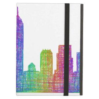 Indianapolis skyline iPad air case
