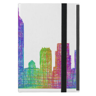 Indianapolis skyline iPad mini cover
