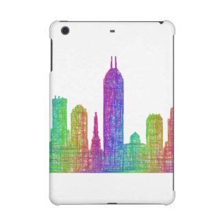 Indianapolis skyline iPad mini retina case