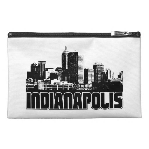 Indianapolis Skyline Travel Accessory Bags