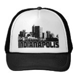 Indianapolis Skyline Trucker Hat