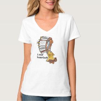 Indianerhäuptling motive: I talk boarisch Shirt