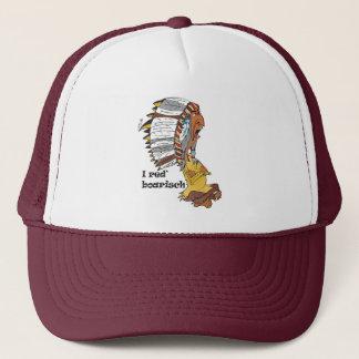 Indianerhäuptling motive: I talk boarisch Trucker Hat