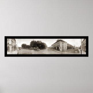 Indianola, foto enorme 1907 de IA Póster