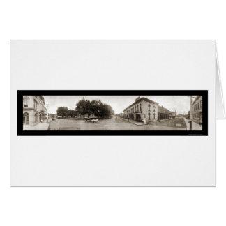 Indianola, IA Huge Photo 1907 Greeting Card
