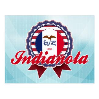 Indianola, IA Tarjeta Postal