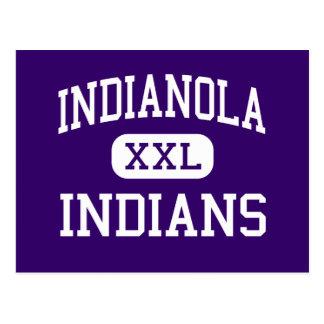 Indianola - Indians - High School - Indianola Iowa Postcard