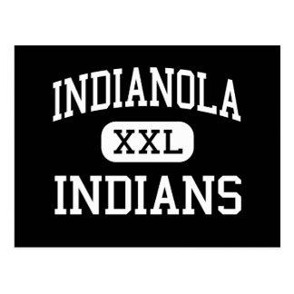 Indianola - indios - alto - Indianola Mississippi Tarjetas Postales