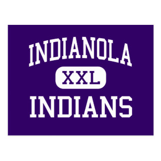 Indianola - indios - High School secundaria - Postal