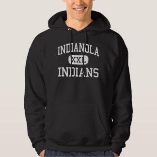 Indianola - indios - High School secundaria - Suéter Con Capucha