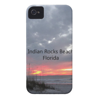 INDIANROCKSBEACHwords iPhone 4 Case