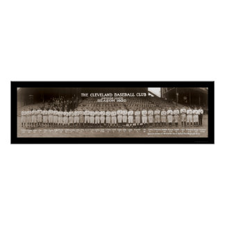 Indians Baseball Photo 1920 Poster