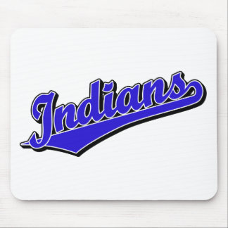Indians in Blue Mouse Pad