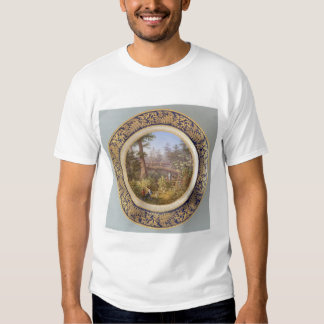 Indians in Sitka, Alaska Forest Plate (2953A) T Shirt