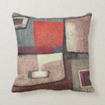Indians in space #2 throw pillow