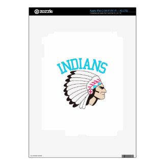 Indians iPad 3 Skins