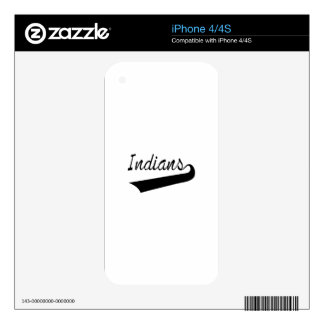 Indians iPhone 4 Decals