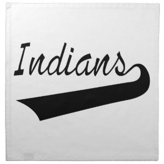 Indians Napkin