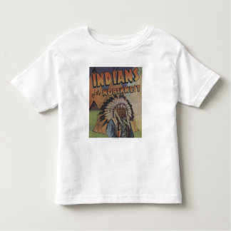 Indians of the Northwest - Indian Chief & Teepee T Shirt
