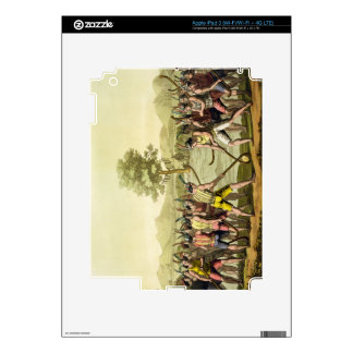 Indians playing Ciueca, Chile, from 'Le Costume An iPad 3 Skins