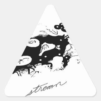 indianstream.png triangle sticker