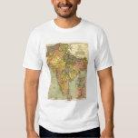 IndiaPanoramic MapIndia Tee Shirts