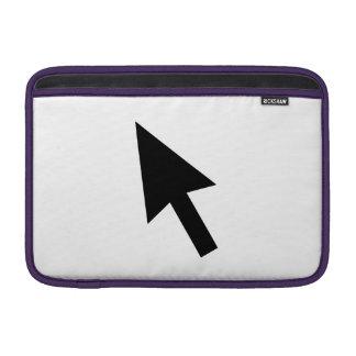 Indicador de flecha del ordenador funda para macbook air