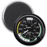 Indicador de indicador de velocidad aérea de los a imán de frigorifico