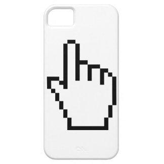 Indicador de la mano iPhone 5 carcasas