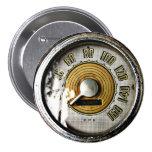 Indicador de la velocidad del automóvil del vintag pins