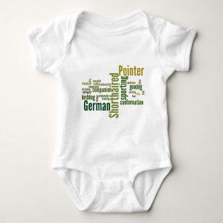 Indicador de pelo corto alemán tee shirt