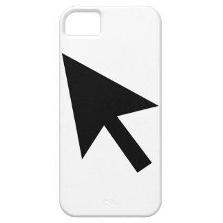 Indicador de ratón iPhone 5 carcasas