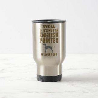 Indicador inglés taza de viaje