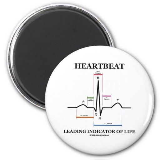 Indicador principal del latido del corazón de la imán redondo 5 cm